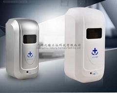全自動手部消毒器紅外線噴霧酒精消毒器淨手器感應壁挂式手消毒器
