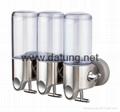 slider soap dispenser/double slider soap