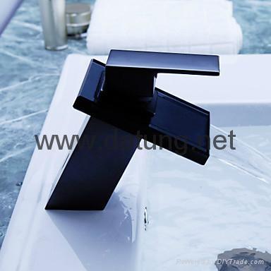 Glass Basin Waterfall Faucet/art faucet/brass faucet/waterfall tap/waterfall fau 3