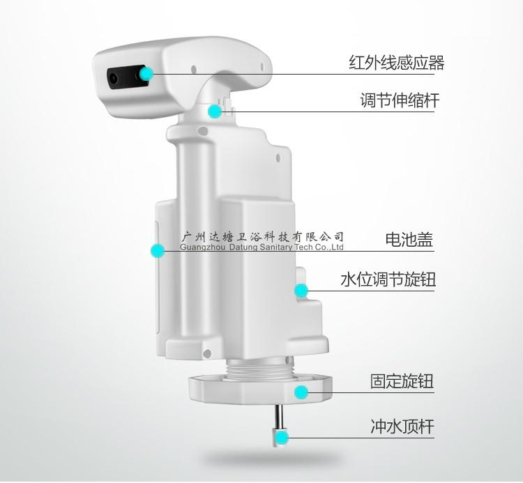 normal hand press toilet updated into automatic flushing  toilet water saving  4