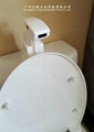normal hand press toilet updated into automatic flushing  toilet water saving  13