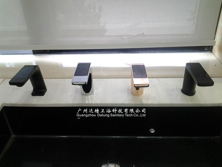 恆溫觸屏水龍頭 數字化溫控智能水龍頭 可調節水量水龍頭 5