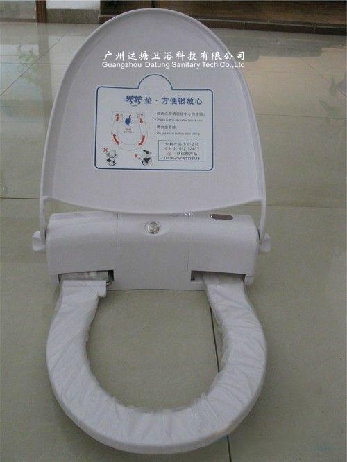 自動換套馬桶墊 一次性馬桶衛生膜 公廁坐便清潔器帶加熱功能 9