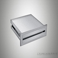 Stainless steel mirror cabinet tissue box business draw towel rack paper holder