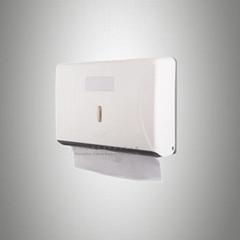 挂牆紙巾架 Z型紙巾盒 手紙筒 方形塑料廁紙筒 ABS抽紙盒