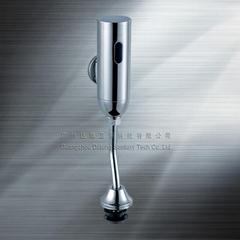 明装自动冲水器挂墙感应小便冲水机 小便清洗器公厕尿液清洁机