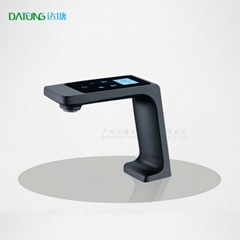 HD LED display screen faucet /thermostatic touch-screen faucet/luxury hotel tap