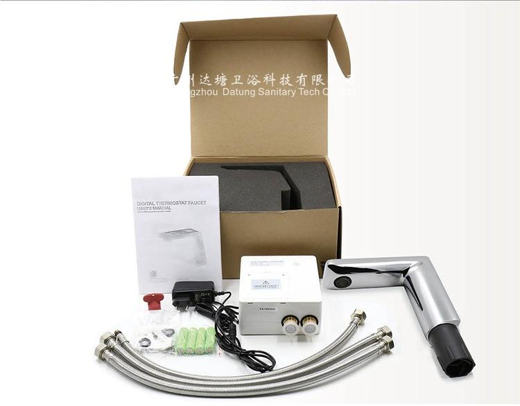 Basin thermostatic faucet/electric  faucet/new fashion smart sensor tap/sanitary 13