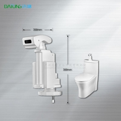 auto sensor stool flusher/bathroom smart cleaner/disabled intelligent toilet
