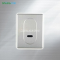 intelligent public toilet saving water flusher panel 18*13.5cm or 13.5*18cm