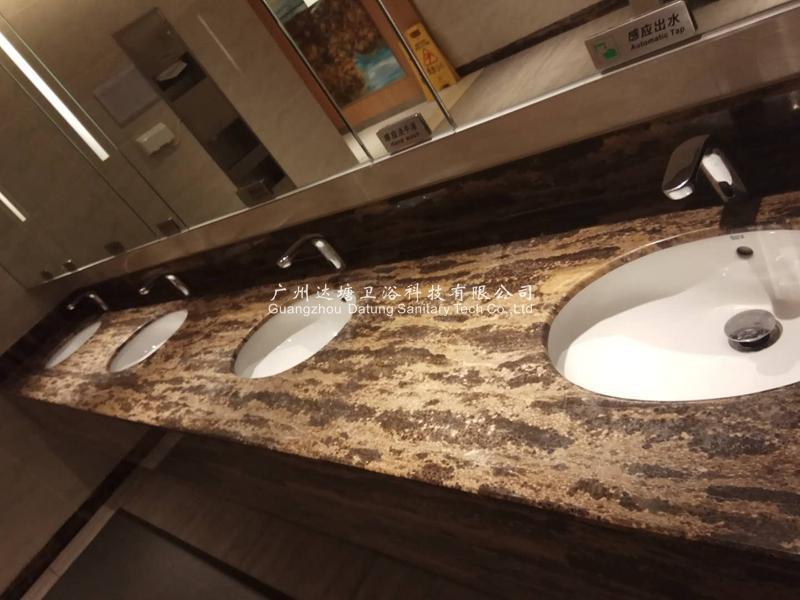 Auto sensor cold faucet  hotel publc intelligent sensor basin faucet    8