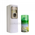 LED screen +arbitrary time spray aerosol dispenser deodoriser air clean odorizer