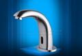 Datung auto sensor faucet  Brass basin saving water tap chrome gold plating  2