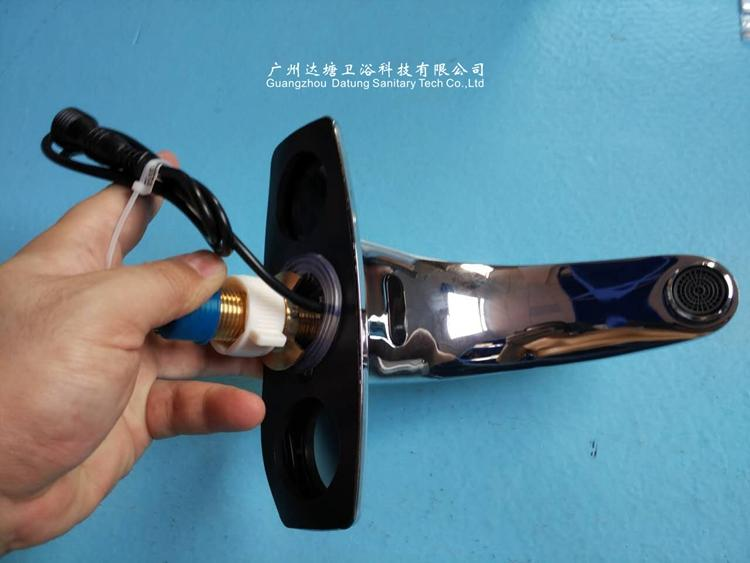 brass business or hospital sensor faucet cold induction tap cold or hot  11