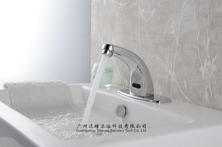 brass business or hospital sensor faucet cold induction tap cold or hot  7