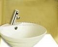 Electronic Faucet Touchless Faucet power tap wash basin commercial public mixer 5