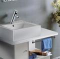 Electronic Faucet Touchless Faucet power tap wash basin commercial public mixer 6
