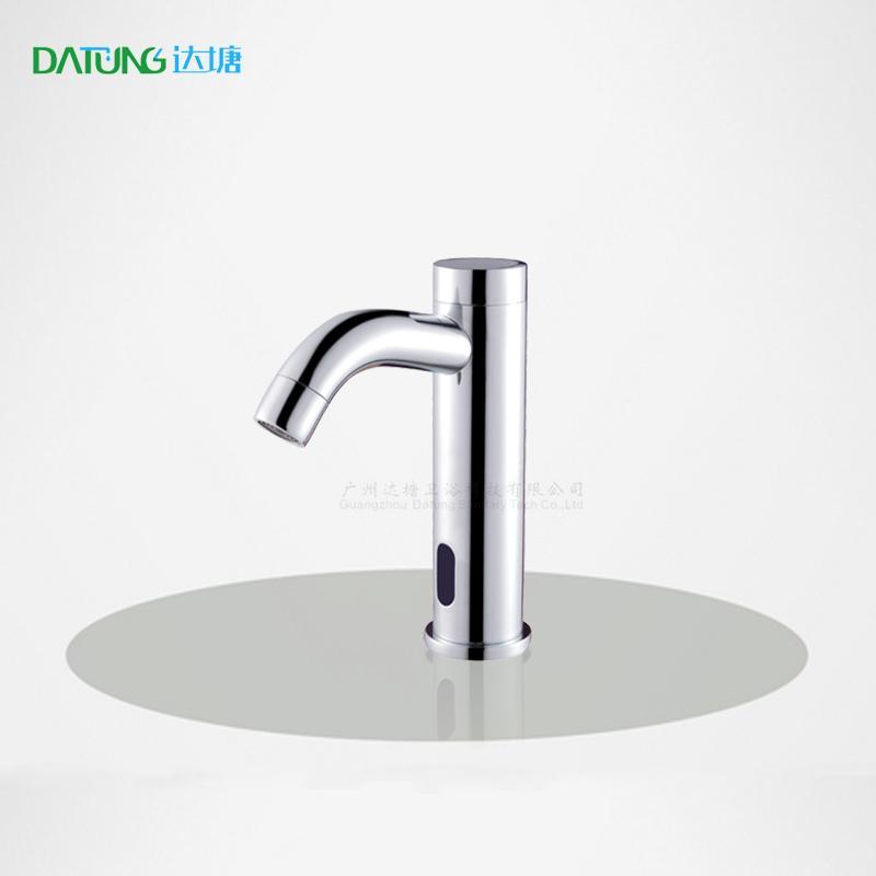 the basin brass smart faucet public automatic spout sensor water dispenser  1