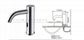 the basin brass smart faucet public automatic spout sensor water dispenser