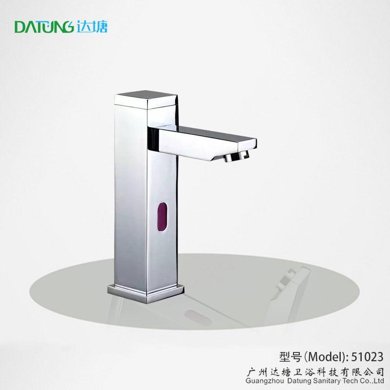 square post sensor faucet column auto tap  1
