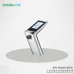 Enviromental bathroom/kitchen faucet touch control thermostatic cold hot tap