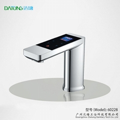 Digital smart faucet, panel control faucet, touch screen thermostatic faucet