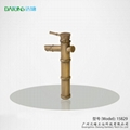 Bamboo artistic faucet bamboo joint