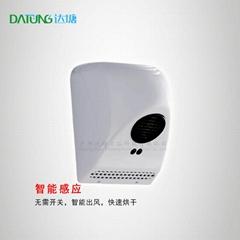 商用烘手器公共廁所挂牆干手器ABS迷你干手機小功率吹水機