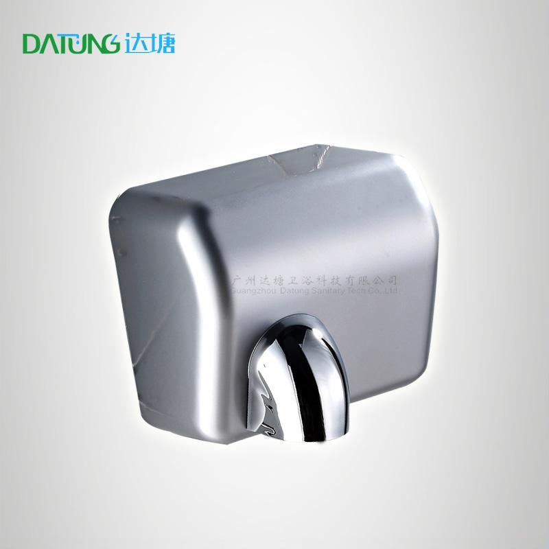 304不鏽鋼感應干手器 自動干手機 公廁感應潔具烘乾機 1