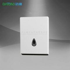 商用ABS双包纸架箱 酒店浴室N折手巾盒 5A景区公厕防水手纸盒