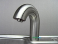 304Stainless steel Sensor Tap Sensor spout Brass Faucet touch free cold tap   3