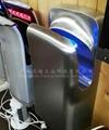 304 Integral Stainless Steel Hand Dryer Auto Sensing Double Jet Jet Dryer Commer