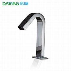 All-copper automatic sensor faucet Square sensor faucet 5A area public toilet