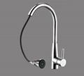 Double sensor kitchen faucet pull out spout tap multifunctional faucet automatic 2