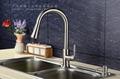 Double sensor kitchen faucet pull out spout tap multifunctional faucet automatic 3