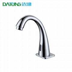 Goose neck sensor faucet automatic hands cleaner smart public toilet automatic w