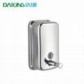 304 Stainless Steel Wall Soap Dispenser Metal Soap Liquid Hand Dispenser