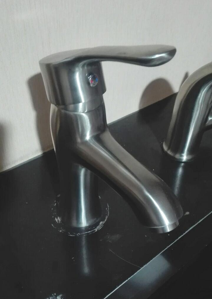 304 stainless steel under counter basin faucet hot and cold faucet High-end  7