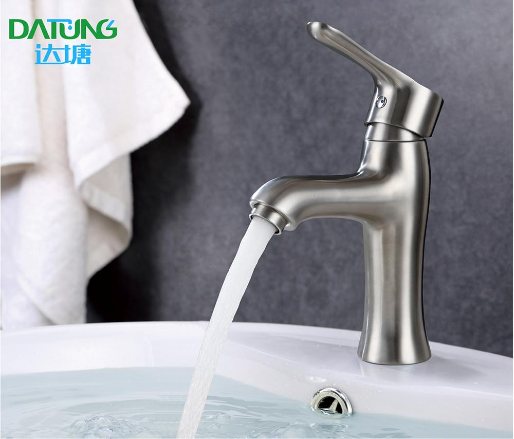 304 stainless steel under counter basin faucet hot and cold faucet High-end  2
