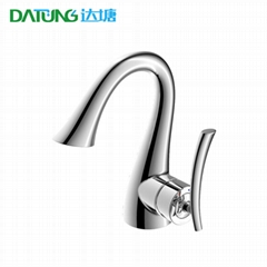 Copper refrigeration hot water basin faucet / creative bathroom / thermostatic