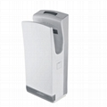 Double side jet type brushless hand dryer.