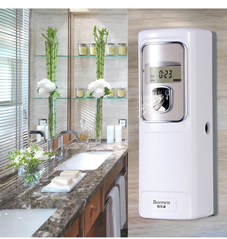 自动喷香机带遥控器定时飘香机 厕所智能香水机酒店扩香机 香氛机 1