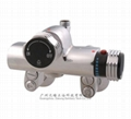 Surface mounted thermostatic faucet