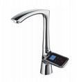 High-end smart screen faucet Kitchen touch-screen faucet 2