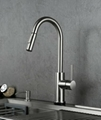 Touch + Manual + Drain faucet Drain Ditch Touch faucet Home kitchen sink 5