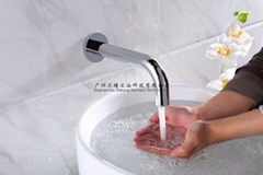 入墙感应自动水龙头 弯管医用洗手器 免接触净手器 化验室设备