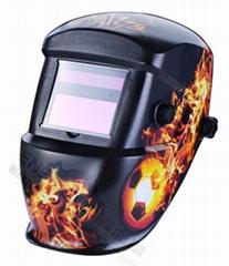 自动变光电焊面罩
