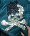 珠片绣花 1