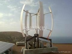 垂直軸風力發電機系統