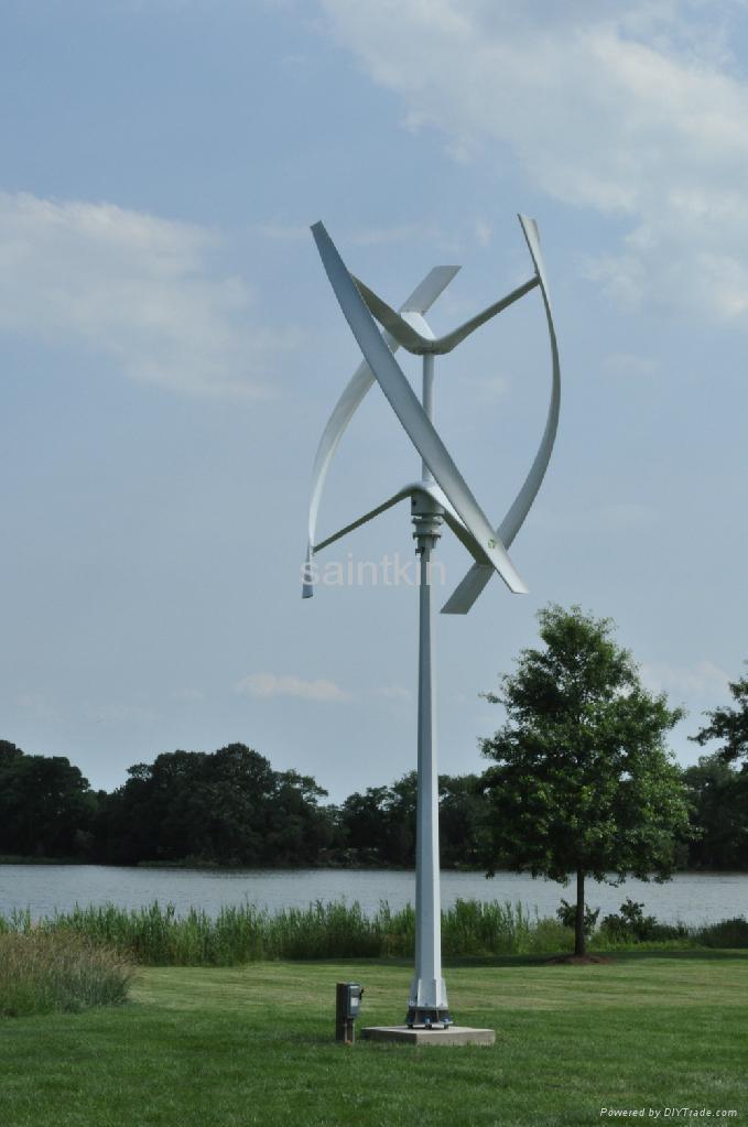 small vertical axis wind turbine generator 1